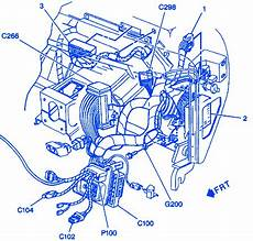 Chevrolet Astro 2001 Engine Electrical Circuit Wiring