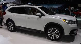 2019 Subaru Ascent Looks Underwhelming In The Flesh And