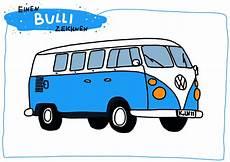 Einen Bulli Zeichnen F 252 R Kinder Und Bulli Liebhaber