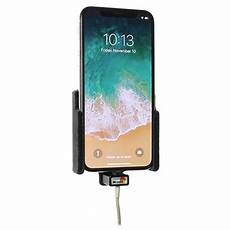 iphone x xs brodit 514997 kfz halterung mit kabelbefestigung