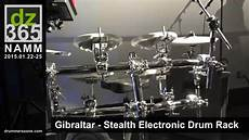 Gibraltar Stealth Electronic Drum Rack