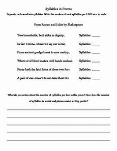 poetry repetition worksheets 25346 exploring rhythm in poetry worksheets by gabrielle smithman tpt