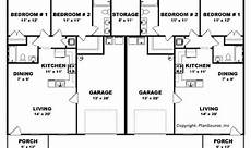 house plans for duplexes three bedroom 16 unique duplex plans 3 bedroom with garages house plans