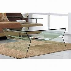 table basse design en verre table rabattable cuisine table basse salon en verre