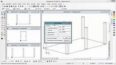 designcad erstellung eines carports in 3d