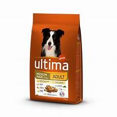 croquettes pour chien medium maxi 10 kg ultima pas