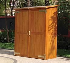 armadietti legno armadio per esterno armadi di servizio armadio per