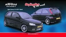 stylingset opel corsa c 9 00 basic by autostyle