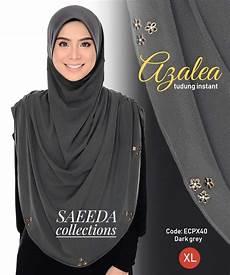 tudung azalea rose 2 0 saiz xl saeeda collections saeeda collections