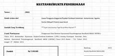 contoh kwitansi pembayaran sekolah pendidikan berbagi informasi pendidikan contoh format kwitansi bop paud tk kb tpa versi berkas sekolah