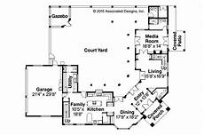 mediterranean house plans with courtyard in middle garage mediterranean house plans two story tuscan home