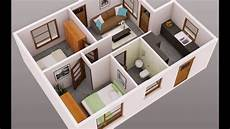 Desain 3d Rumah Minimalis Type 21 Dengan Tilan Modern