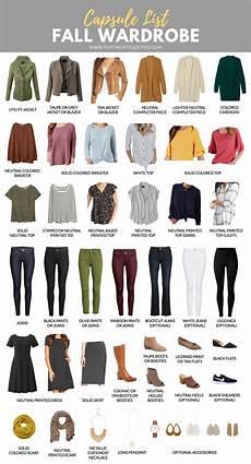 capsule wardrobe fall capsule wardrobe for the pmt fall 2018 challenge
