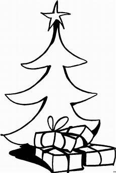 gratis malvorlagen geschenke weihnachtsbaum und geschenke ausmalbild malvorlage