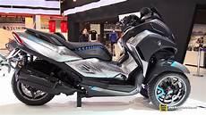 scooter 3 roues yamaha trimax 2019 yamaha 3ct prototype scooter walkaround debut at