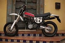 yamaha xt500 supermoto by random cycles bikebound