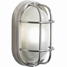 dar lighting salcombe large oval stainless steel outdoor wall light sal5244 arrow electrical