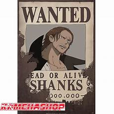 poster one affiche wanted shanks le roux