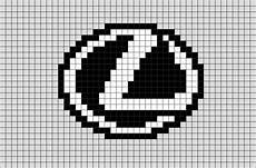 Pixel Logo Voiture Lexus Pixel Brik