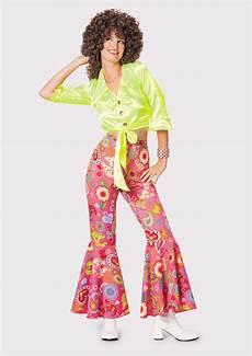 flower power kleidung hippie hippy damenhose schlaghose hippie 70er jahre hose