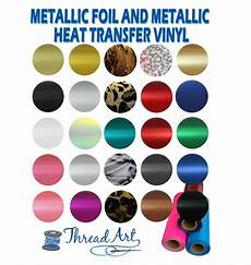 metallic foil heat transfer vinyl by the yard 20 quot wide