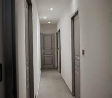 peindre un couloir двері en 2019 couloir gris