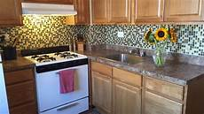 Kitchen Peel And Stick Backsplash Today Tests Temporary Backsplash Tiles From Smart Tiles