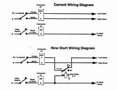 harley headlight wiring diagram help headlight wire to cut during starting 96 flh page 2 harley davidson forums