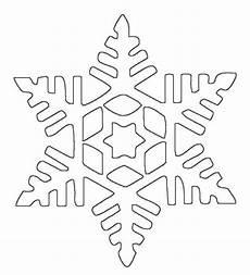 Schneeflocke Malvorlage Einfach Ausmalbilder Schneeflocken Schablone Zum Ausdrucken