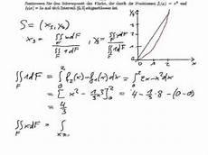 analysis schwerpunkt bestimmen mit doppelintegral
