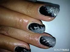 fullcover black silver glitter gel n 228 gel mit