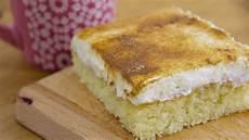 schmandkuchen frischer kuchen mit apfelmus und schmand