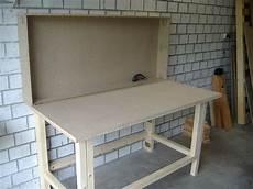 garage bauen werkzeugschrank arbeitstisch kombi bauanleitung zum selber