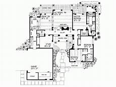 spanish style house plans with interior courtyard courtyard mediterranean style house plans beach