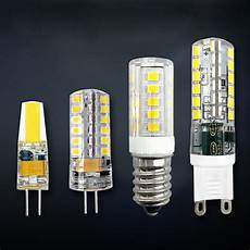 g4 g9 e14 led bulb cob light 3w 6w 9w dimmable l ac