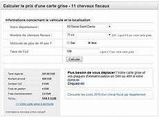 Calculer Le Prix D Une Carte Grise 2012 Discussion Sur L