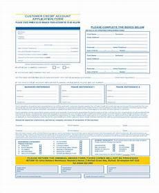 free 15 credit application form templates pdf