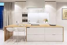 cuisine bois blanc cuisine bois et blanc moderne 25 id 233 es d am 233 nagement