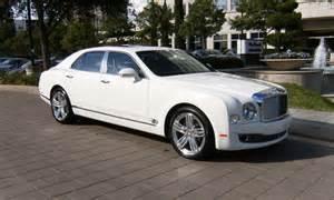 Bentley Mulsanne Hire Manchester