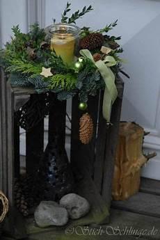 Weihnachtsdeko Vor Haustür - deko flur oder vor haust 252 r weihnachtsdekoration