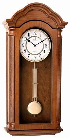 verona light wooden finish pendulum wall clock w elegant top