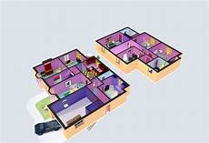 simpsons house floor plan little bit of fun this one it s the simpsons house in 3d