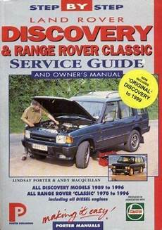 online car repair manuals free 1996 land rover range rover electronic toll collection porter manuals land rover discovery and range rover quot classic quot service guide and owner s