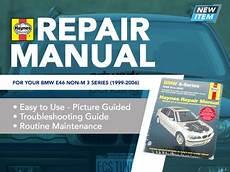 gallery bmw repair manual bmw 3 series e46 1999 2005 bentley publishers repair ecs news haynes repair manual bmw e46 non m 3 series
