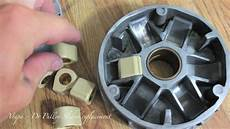 vespa dr pulley sliders replacement