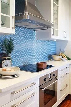 Blue Tile Backsplash Kitchen 82 Best Kitchen Images On Kitchens
