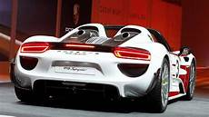 Porsche Recalls High End 918 Spyder Hybrid To Repair Rear