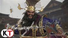 dynasty warriors 9 dong zhuo character highlight youtube