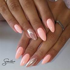 nehty almond 130 i semiflash semilac paznokcie paznokie艸 蛛adne