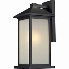 decor lora 1light black outdoor walllightingel0523ib the
